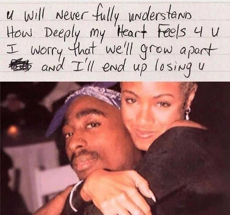 2PAC LOVE LETTER