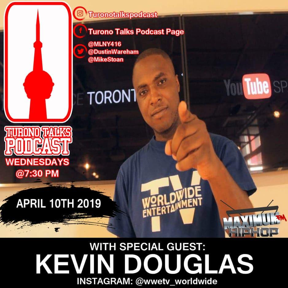 Kevin Douglas turono talks