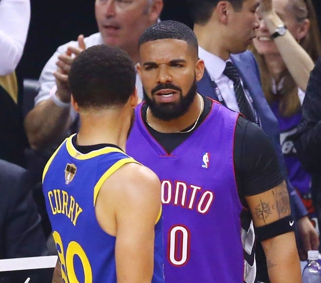 Pusha T's Drake Diss Song Played During Warriors Pre-Game