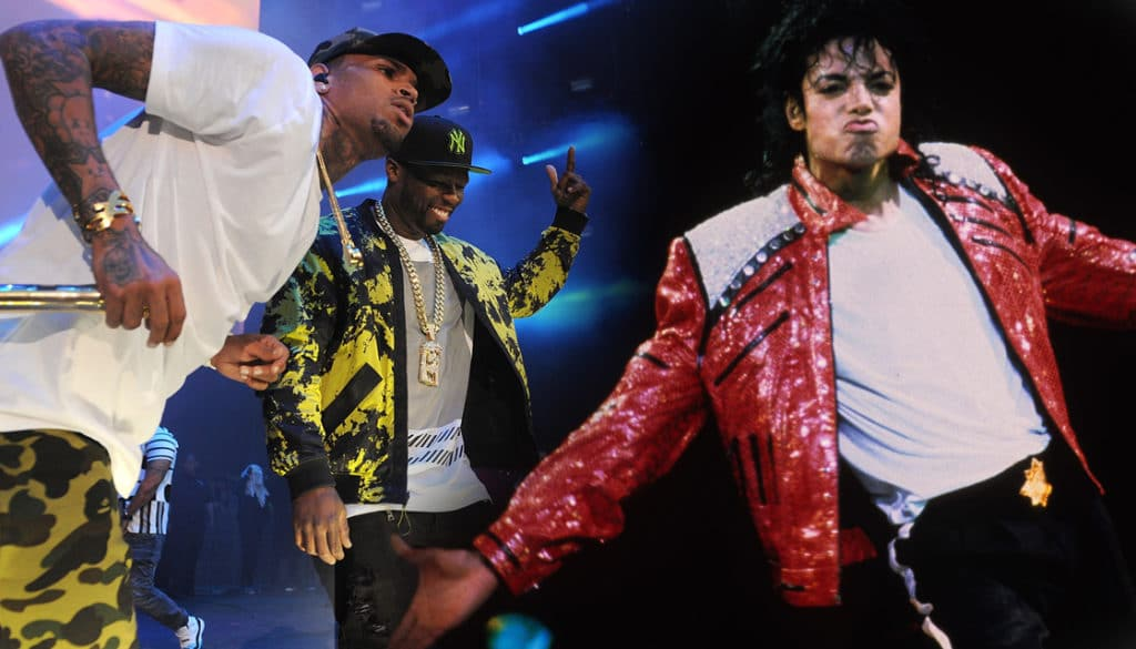 CHRIS BROWN MJ CURTIS JACKSON