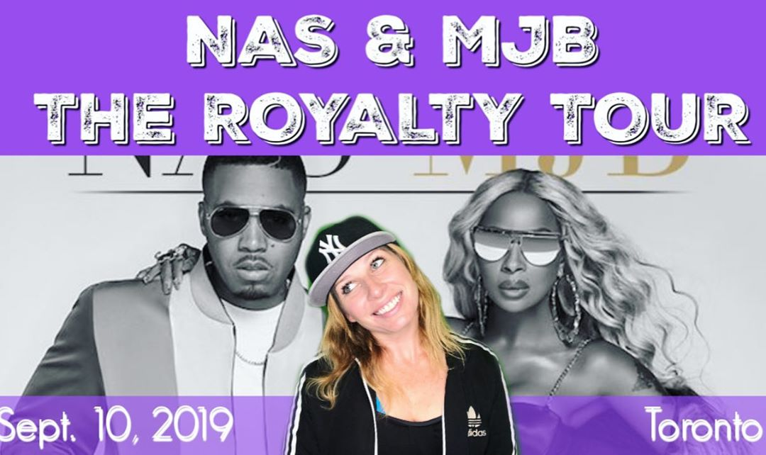 nas mjb royalty tour