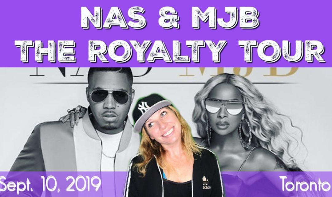 nas mjb royalty tour