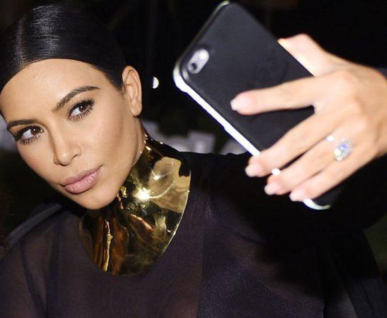 kim kardashian west selfie