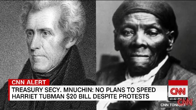harriet tubman andrew jackson
