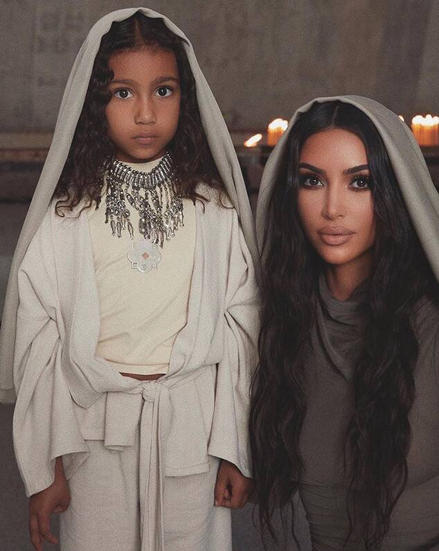 NORTH WEST KIM KARDASHIAN