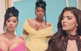 cardi b megan the stallion kylie jenner