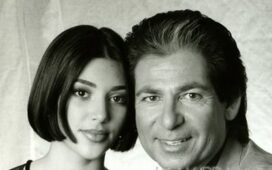 kim and robert kardashian