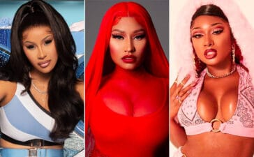 CARDI B, NICKI MINAJ, MEGAN THE STALLION
