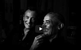 barack obama bruce springsteen